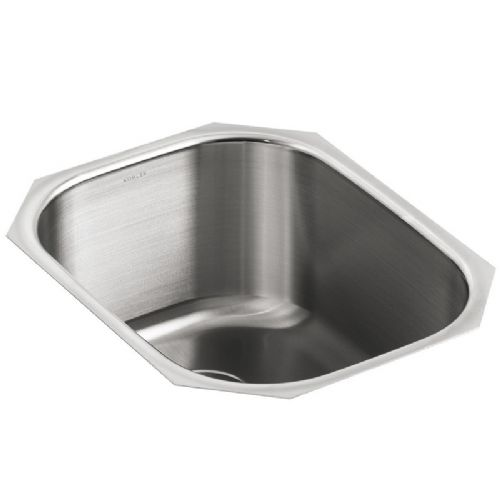 Kohler Icerock Stainless Steel Under-Mount Kitchen Bowl - 3164-NA